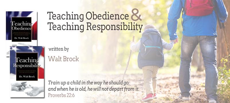 Teaching Obedience by Walt Brock